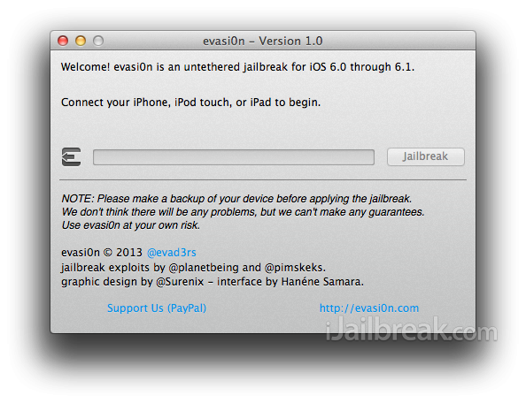 How To: Jailbreak iOS 6 / iOS 6.1 Untethered On iPhone, iPod Touch Or iPad With Evasi0n [Windows / Mac OS X]