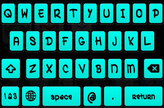 Change The Color Of iPhone Keyboard With The Color Keyboard Cydia Tweak