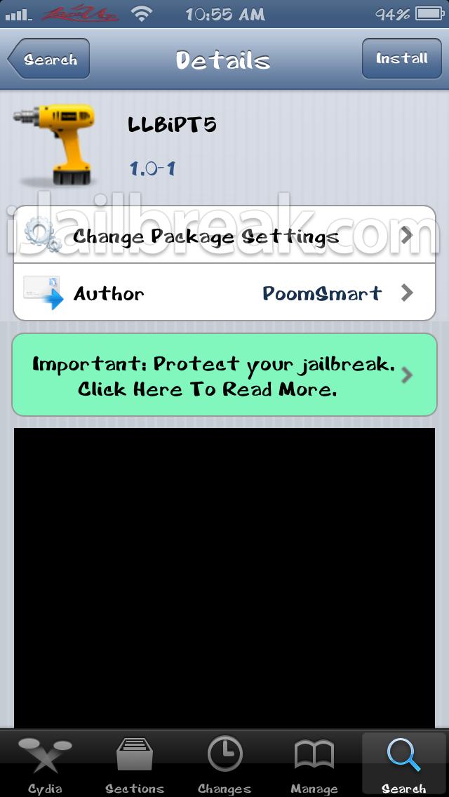 LLBiPT5 Cydia Tweak-ijailbreak