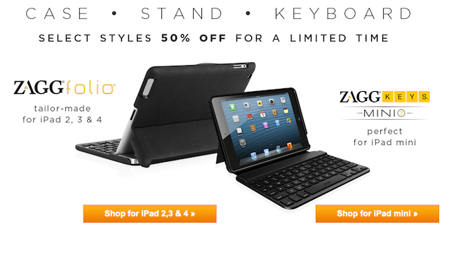 ZAGG iPad Bluetooth Keyobard Sale
