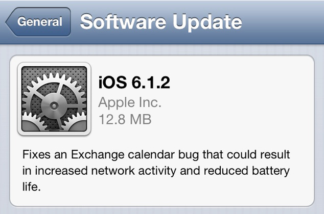 Download iOS 6.1.2 For iPhone, iPod Touch, iPad