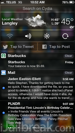 iPhone-5-Notification-Center