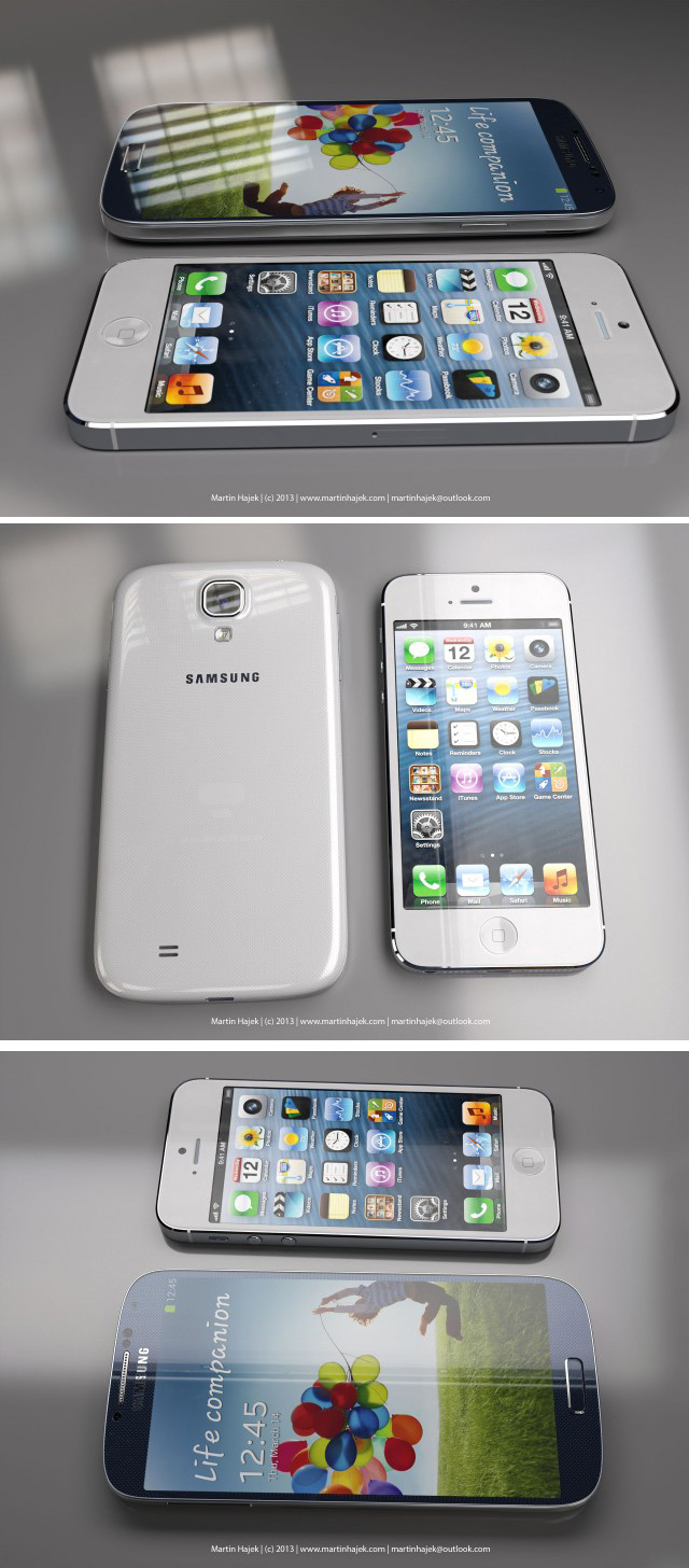 Samsung Galaxy S IV Vs iPhone 5
