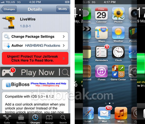 LiveWire-Cydia-Tweak