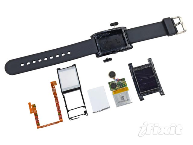 Pebble Smartwatch Teardown By iFixit [IMAGES]