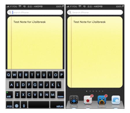 ToDoNotes 2 iOS 6 Cydia Tweak iJailbreak 2