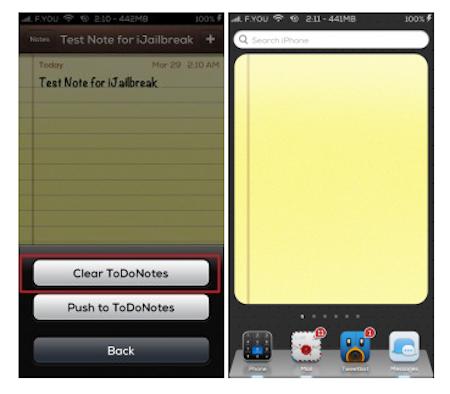 ToDoNotes 2 iOS 6 Cydia Tweak iJailbreak 3