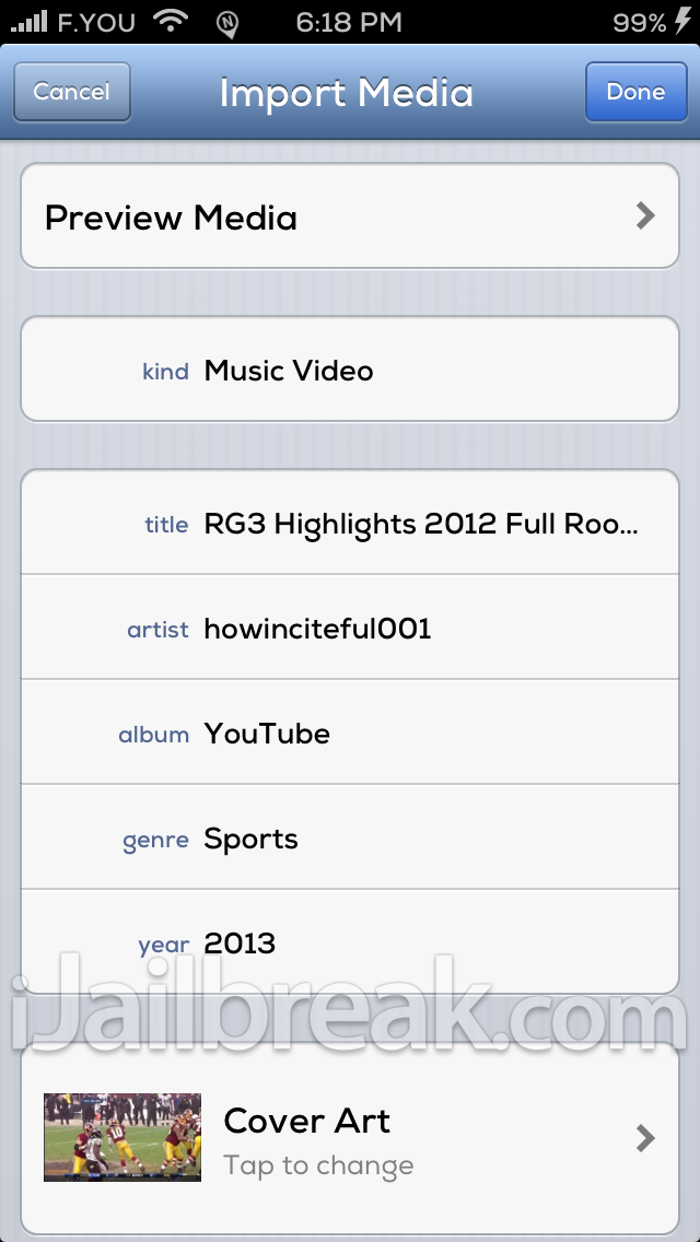 YourTube iOS 6 Cydia Tweak 2 iJailbreak