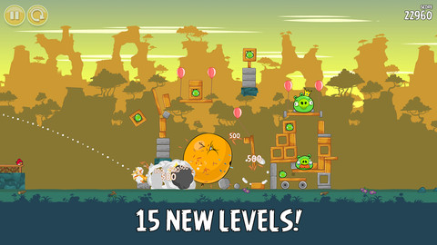 Angry Birds 15 New Levels