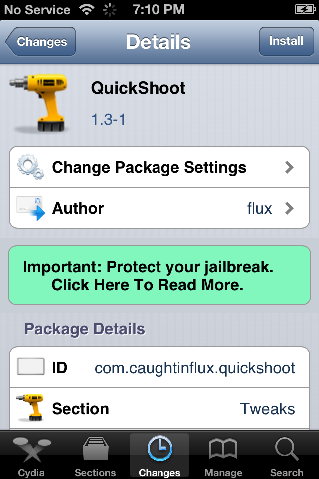 Simply Double-Tap On The Camera Icon To Take Pictures With QuickShoot [Cydia Tweak]