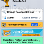 Call SMS Recipients By Simply Raising iPhone To Ear With The RaiseToCall Cydia Tweak