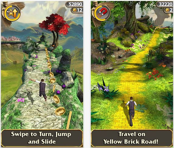 Imangi Studios And Disney Release Temple Run: Oz