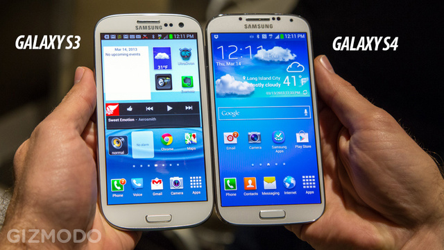 Galaxy S III vs Galaxy S IV