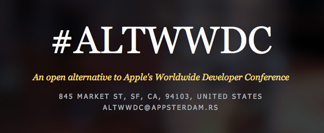 #AltWWDC Is A Free Alternative To The WWDC