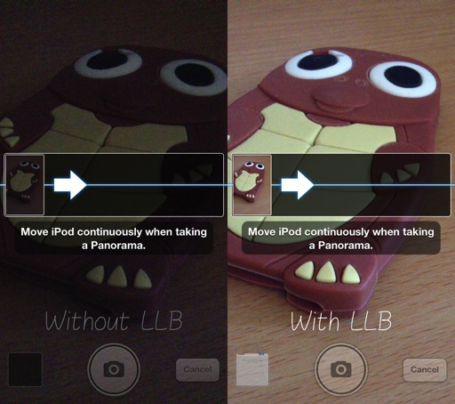 LLBPano Cydia Tweak Example