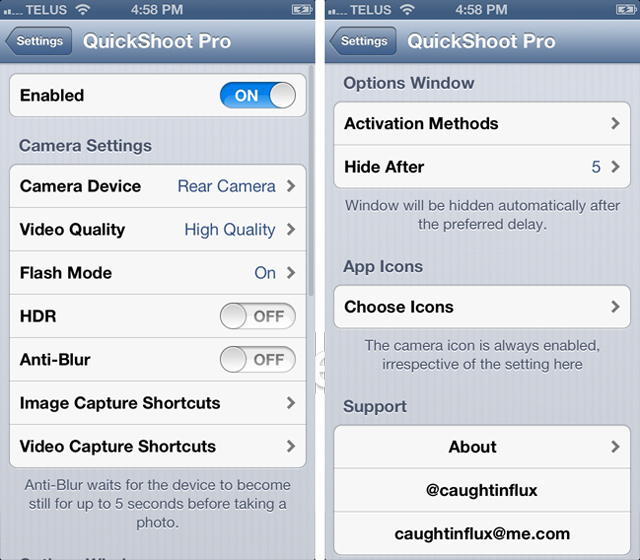 QuickShoot-Pro-Cydia-Tweak