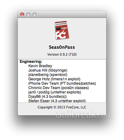 Upcoming Seas0nPass 0.9.2 Integrates iFaith-Like Functionality [Download Now]
