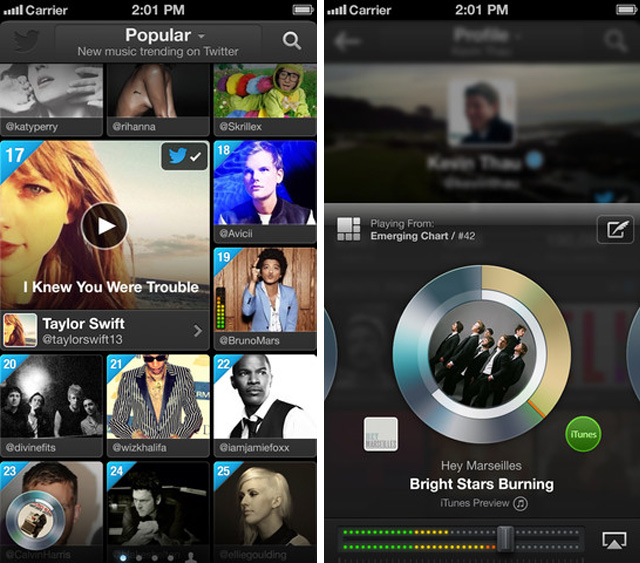 Twitter's New #Music App Launches On The App Store [Download Now]