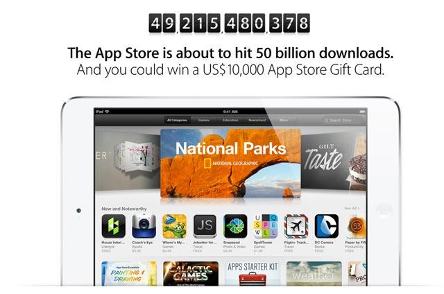 50-Billionth-App-Download
