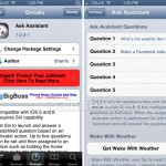 Get Siri To Answer Your Questions Without Speaking With The Ask Assistant Cydia Tweak
