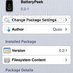 Reveal Battery Percentage Only When You Want To With The BatteryPeek Cydia Tweak