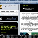 Fix Low Brightness Level After A Respring With The BrightnessFix For iOS 6 Cydia Tweak