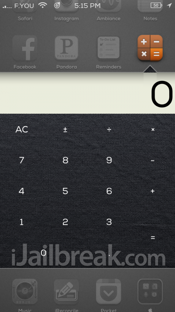 Calculator For Velox Cydia iJailbreak
