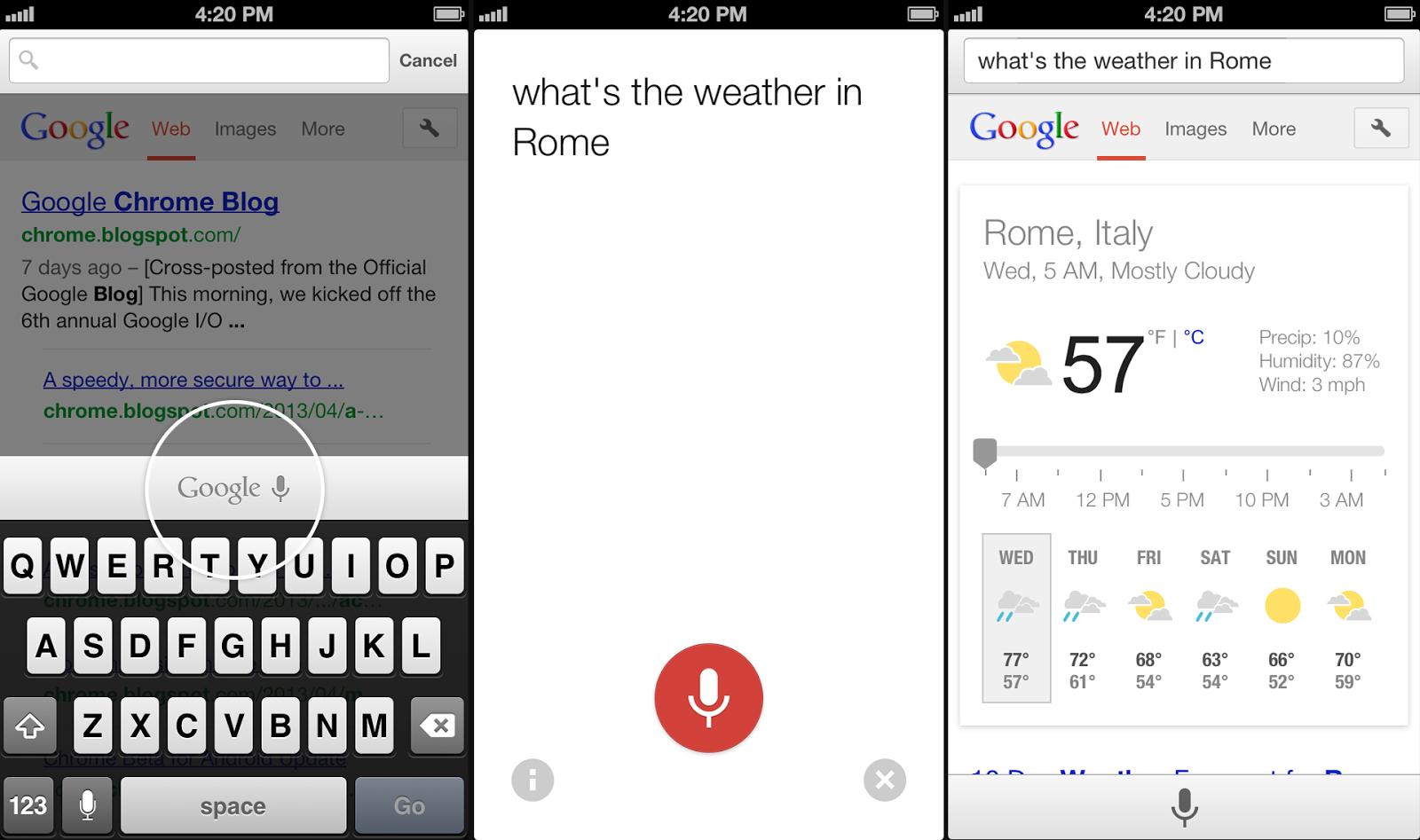 Chrome 27.0.1453.10 for iOS - Voice-Search-ijailbreak