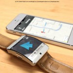 This Is How An iWatch Could Provide A Second Screen While Using Maps On Your iPhone [IMAGE]
