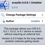 Evasi0n Updated To Fix The Weather Bug And Long Reboot Issues, Update Through Cydia Now