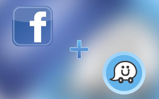 Facebook And Waze