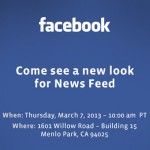 Facebook Will Be Redesigning The News Feed, To Be Unveiled March 7th