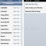 "FullScroll Cydia Tweak Brings An ""Awesome Fullscreen Mode"" To All iOS Applications"