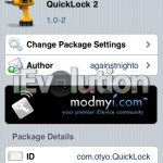 QuickLock 2 – Lock You iDevice From SpringBoard
