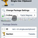 Cydia App: Single-Use Clipboard – Whips Your iDevice's Clipboard After Copy-Paste