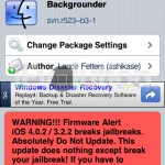 Backgrounder Updated To svn.r523-b3 – Multitasking For iPhone/iPod Touch and iPad