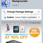 Backgrounder Updated To v1.0.3-1: Supports iOS 4.2.6 (Verizon iPhone 4)