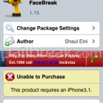 FaceBreak Updated To v1.15 – Supports iOS 4.1 – Enable FaceTime Over 3G