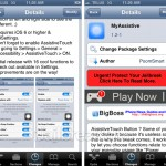 The MyAssistive Cydia Tweak Allows You To Repurpose The AssistiveTouch Functionality In iOS