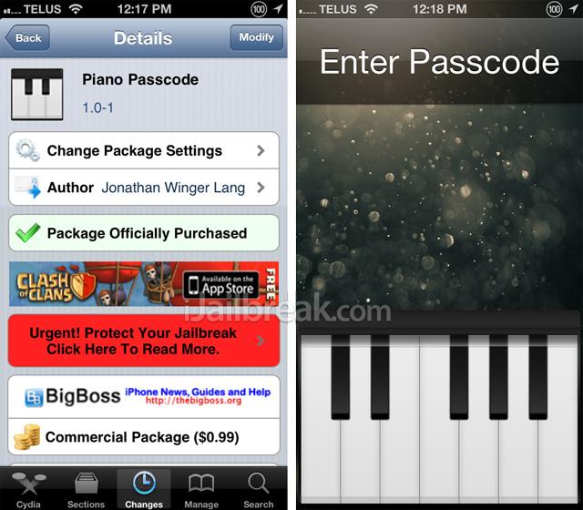 Piano-Passcode