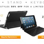 Get A ZAGG Bluetooth Keyboard Case For Your iPad Or iPad Mini For 50% Off [Limited Time]