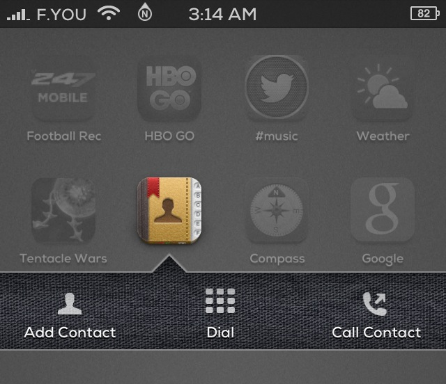 address velox cydia tweak