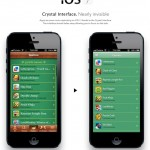 How The Game Center Could Look Like In iOS 7 [Image]