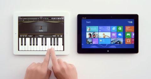 iPad vs Surface Ad
