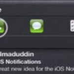 Here's An iOS 7 Concept That Brings Actions To Notification Center [VIDEO]