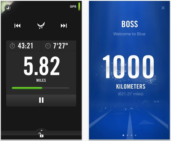 Nike+ Running 4.2 For iOS