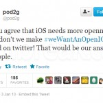 Pod2g's #weWantAnOpenIOS Is Trending On Twitter–Users Want Tweaks And Mods In iOS