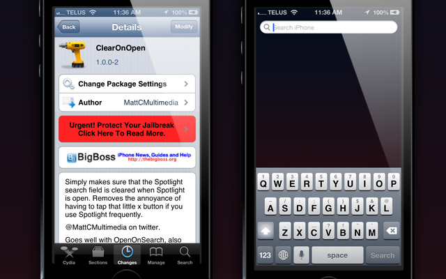 ClearOnOpen-Cydia-Tweak-ijailbreak