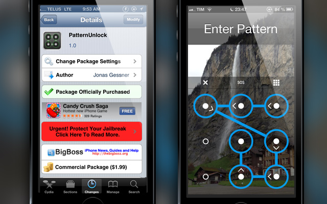 PatternUnlock-Cydia-Tweak