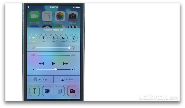 iOS 7 Beta Review Control Center-iJailbreak